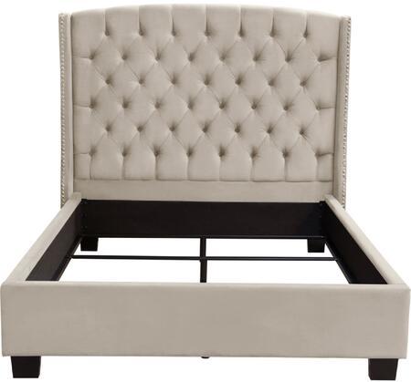 Diamond Sofa MAJESTICEKBEDTN Majestic Series  King Size Sleigh Bed