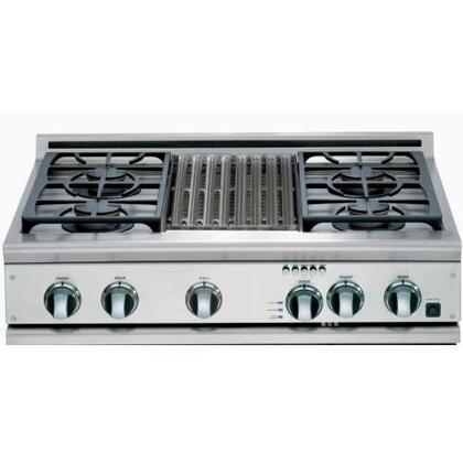 DCS CP364GLSSL  Gas Sealed Burner Style Cooktop
