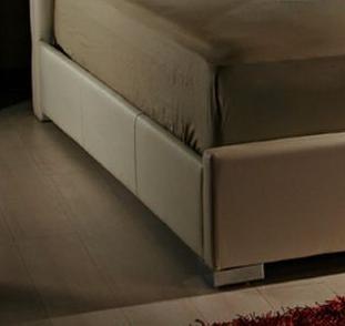 Diamond Sofa VALENTINOBEDFRAMEW Valentino Collection Bed Rails