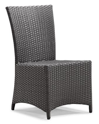 Zuo 701361 Vallarta Series  Synthetic Weave w/ Aluminum Frame  Patio Chair