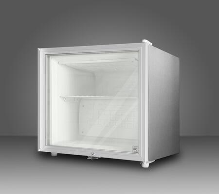 Summit FS20LGLCSS7 Freestanding Upright Counter Depth Freezer