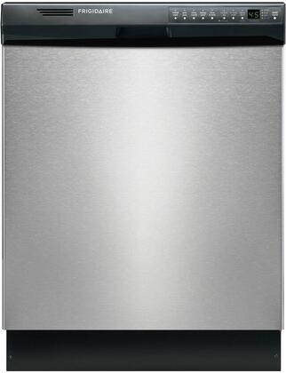 """Frigidaire FDB2410HIC 24""""  Stainless Steel Built In Full Console Dishwasher with 12 Place Settings Place Setting"""
