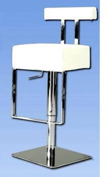 Chintaly 0812-AS- Adjustable Height Swivel Stool: