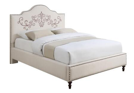 Coaster 300491Q Homecrest Series  Queen Size Panel Bed