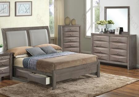 Glory Furniture G1505DDQSB2DM G1505 Queen Bedroom Sets