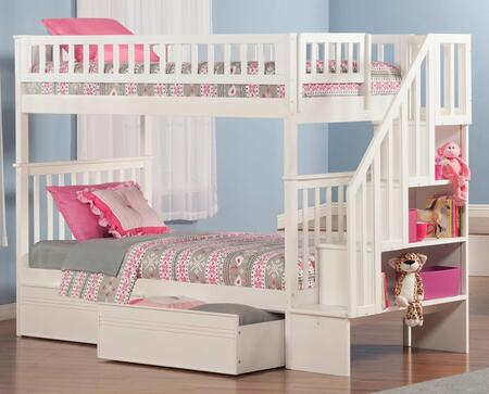Atlantic Furniture AB56612  Twin Size Bunk Bed