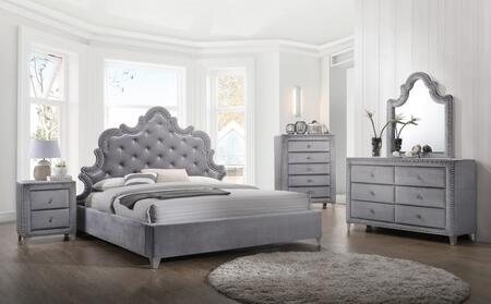 Meridian SOPHIEQPBDMNC Sophie Queen Bedroom Sets