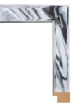 "Hitchcock Butterfield 68230X Reflections Contempo Silver Chrome 1"" Framed Wall Mirror"