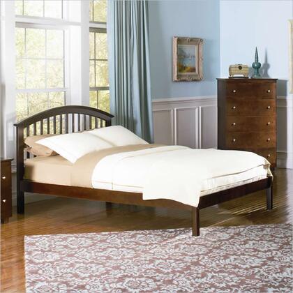 Atlantic Furniture SRICHMONDOFQUEENCL Richmond Series  Queen Size Bed