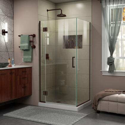 Unidoor X Shower Enclosure 6HP 30D 30RP 06