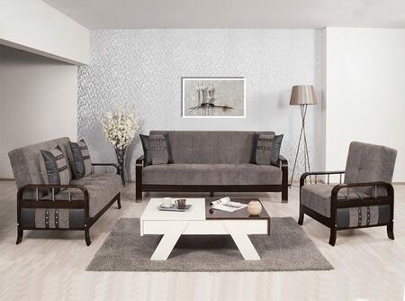 Casamode SNSBLSACFGY Living Room Sets
