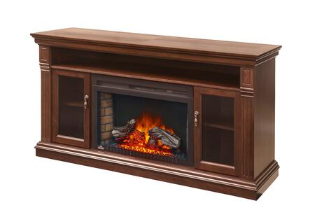 "Napoleon NEFP29 Mantel Package Complete with Side Columns, Hardware and and the Cinema 29"" Electric Fireplace"
