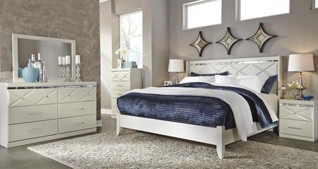 Milo Italia BR5215457DMC2N Strickland Queen Bedroom Sets