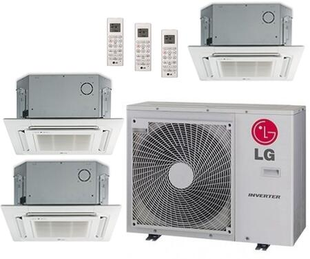 LG 704204 Triple-Zone Mini Split Air Conditioners