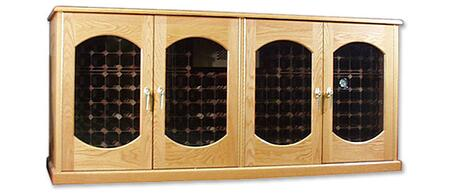 "Vinotemp VINO400CREDLEXBW 88"" Wine Cooler"