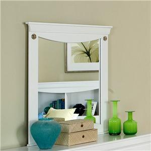 Standard Furniture 54818 Aspen Series Rectangular Landscape Dresser Mirror