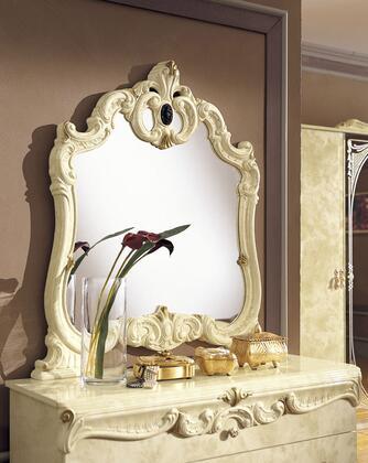 VIG Furniture VGCABOROCCOIVOMI Modrest Barocco Series Rectangular Portrait Dresser Mirror