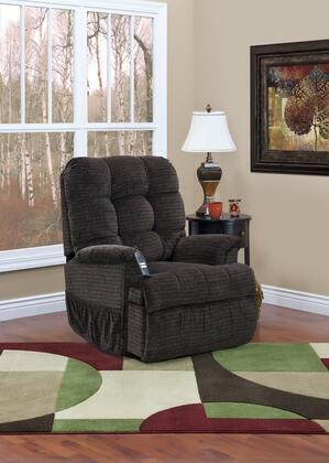 MedLift 5555P, 5555 Series, Petite Sleeper/Reclining Lift Chair: