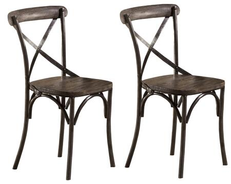 Hillsdale Furniture 5676802 Lorient Series Modern Metal Frame Dining Room Chair