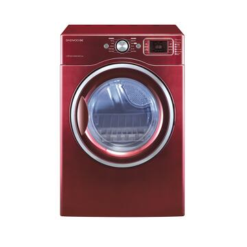 Daewoo DWDWD1353RC  4.5 cu. ft Front Load Washer, in Red