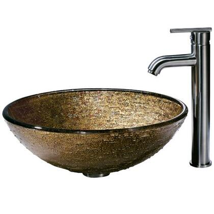 Vigo VGT154 Brushed Nickel Bath Sink