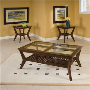 """Standard Furniture 27050 30"""" Contemporary Living Room Table Set"""