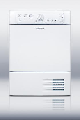 """Summit TCL73XNA 24""""  4 cu. ft. Electric Dryer, in White"""