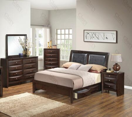 Glory Furniture G1525DDTSB2DMN G1525 Twin Bedroom Sets