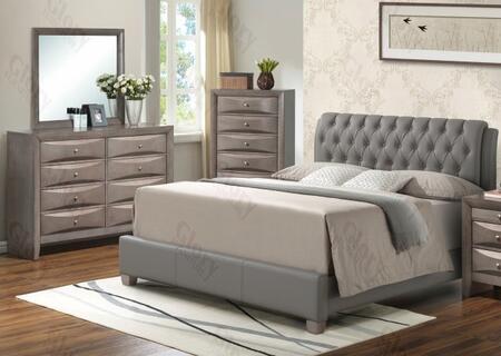 Glory Furniture G1505CKBUPDM G1505 King Bedroom Sets
