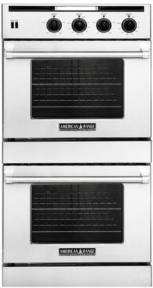 American Range AROSSG230LPMG Double Wall Oven, in Gun Metal