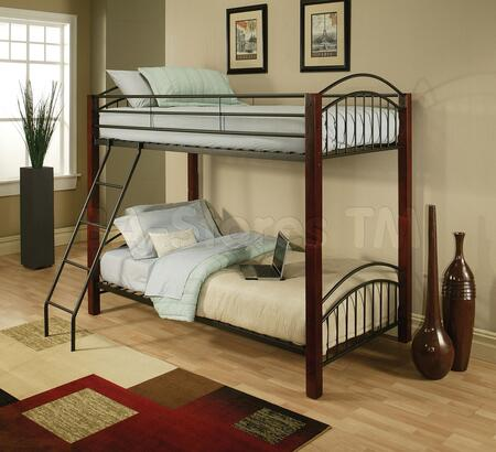 Acme Furniture 12775 Jennifer Series  Twin Size Bunk Bed