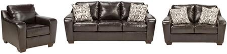 Milo Italia MI2219SLCCHOC Bentley Living Room Sets