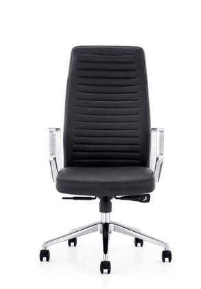 "VIG Furniture VGFUA1516BLK 24"" Adjustable Modern Office Chair"