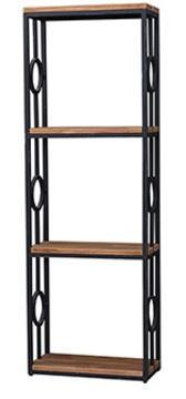 Bramble 25757 Urban Series Wood 3 Shelves Bookcase