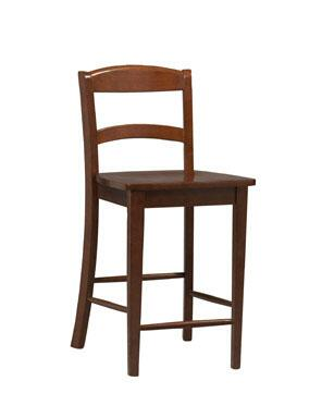 Linon 01851DKCHY01KDU Torino Series Residential or Commecial Bar Stool