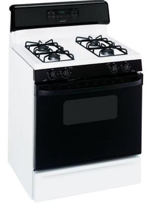 """Hotpoint RGB745DEPWH 30"""" Gas Freestanding 