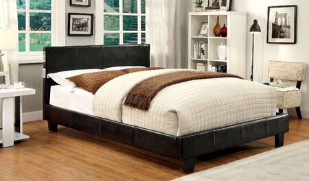 Furniture of America CM7099EXQBED Evans Series  Queen Size Bed