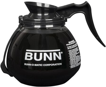 Bunn-O-Matic 4240X0203 64 oz Glass Decanter with RFID Collar and Handle