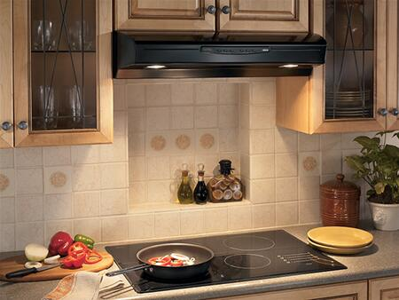 """Broan Allure II QS236 36"""" Under Cabinet Range Hood with 300 CFM Internal Blower, Three-Speed Electronic Control and Three-Level Light Settings"""