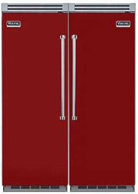 Viking VK3PCARCDRKIT8 Side-By-Side Refrigerators