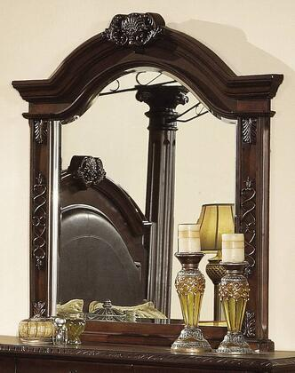 Yuan Tai JU2666M Juliet Series Arched Portrait Dresser Mirror