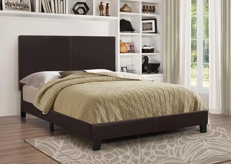 Coaster 300557Q Mauve Series  Queen Size Platform Bed