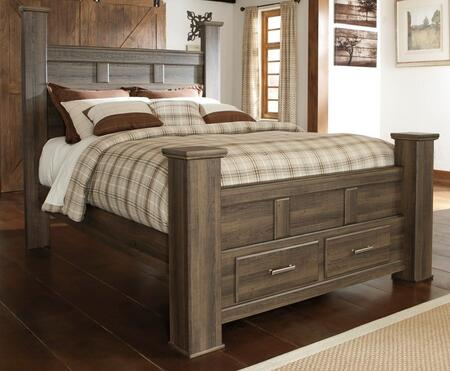 Signature Design by Ashley B251506764S98 Juararo Series  Queen Size Poster Bed