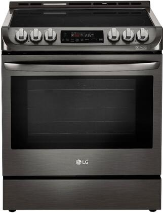 """LG LSE4611x 30"""" Electric Slide-In Range with ProBake Convection, EasyClean and UltraHeat, in"""