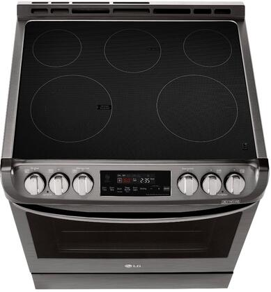LG LSE4611BD 30 Inch Slide-in Electric Range with Smoothtop ...