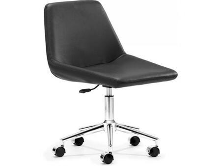 """Zuo 205344 21"""" Modern Office Chair"""