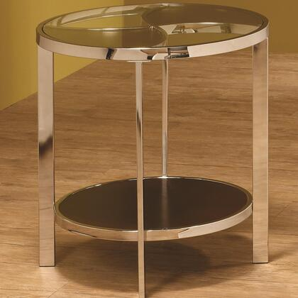 Coaster 701677 701670 Series Contemporary Round End Table