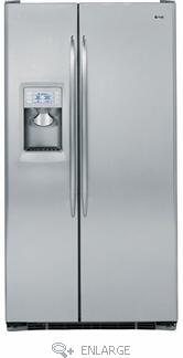 GE PSDS3YGXSS Freestanding Side by Side Refrigerator |Appliances Connection