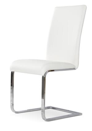 VIG Furniture VGGUYA801WHT Modrest Crane Series Modern Metal Frame Dining Room Chair