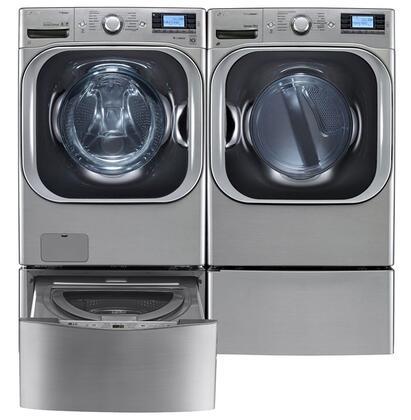LG 666096 TurboWash Washer and Dryer Combos